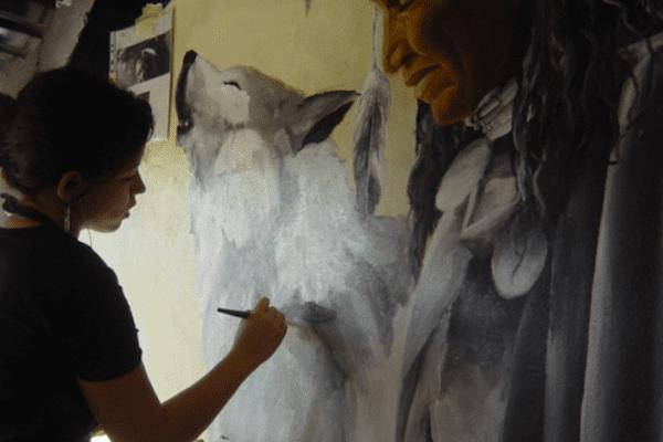 Calédoniens ailleurs : Merryl Dang se dessine un avenir coloré