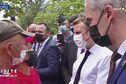 « J'ai entendu ce que vous m'avez dit » déclare Emmanuel Macron aux anti nucléaires demandant pardon et réparations