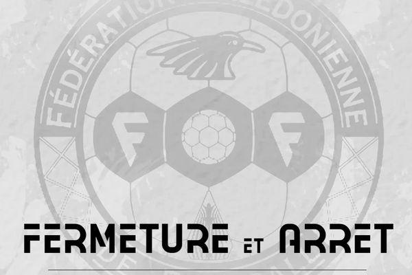 Foot à l'arrêt symbole de la FCF