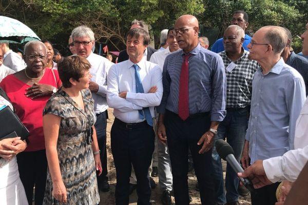 visite Nicolas Hulot en Martinique