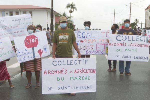 Colère des producteurs agricoles du marché de Saint-Laurent