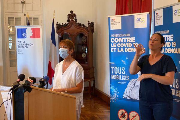 Martine Ladoucette point presse prefecture 11 septembre