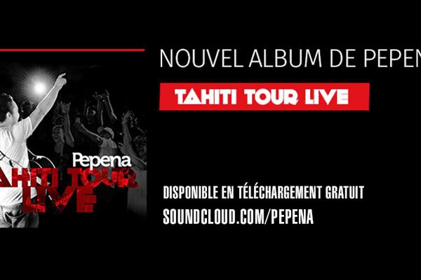 Pepena Tahiti tour live