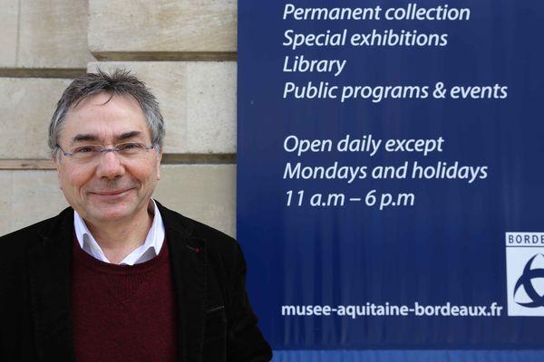 François Hubert, directeur du Musée d'Aquitaine