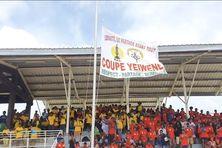 Durant la cérémonie d'ouverture, le lundi 25 janvier, à Maré.