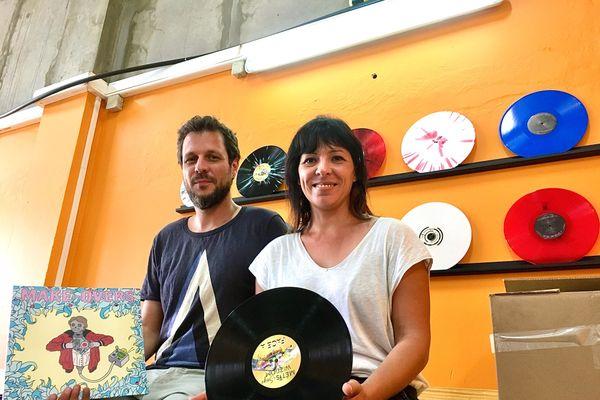 Antoine et florence fiers de leurs disques
