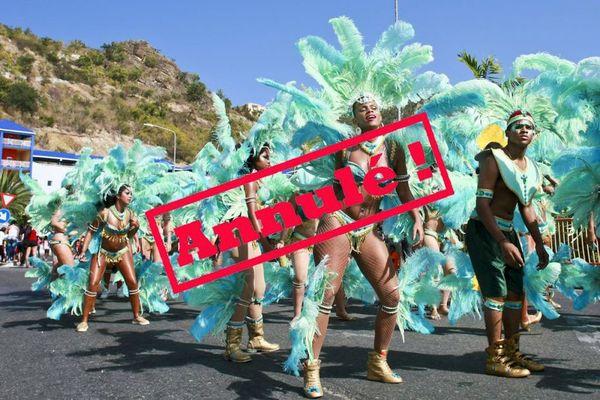 Carnaval 2021 Sint Maarten annulé