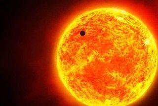 Mercure dans l'axe du soleil