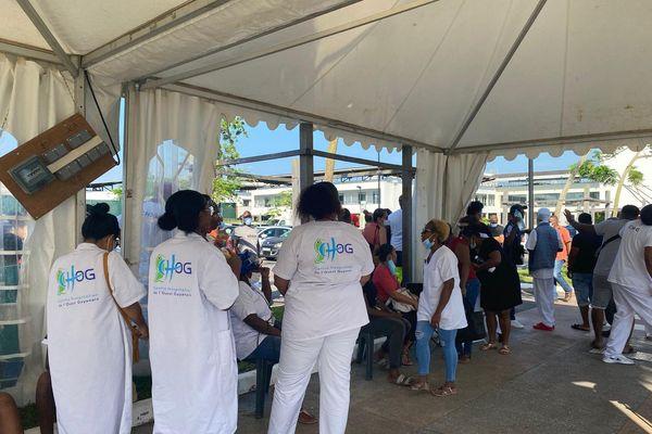 Journée off des personnels des hôpitaux contre l'obligation vaccinale