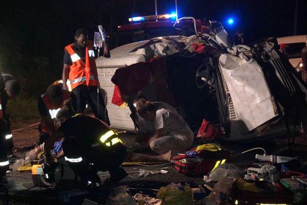 Accident le 23 juin 2018 sur la route de Saint-Laurent