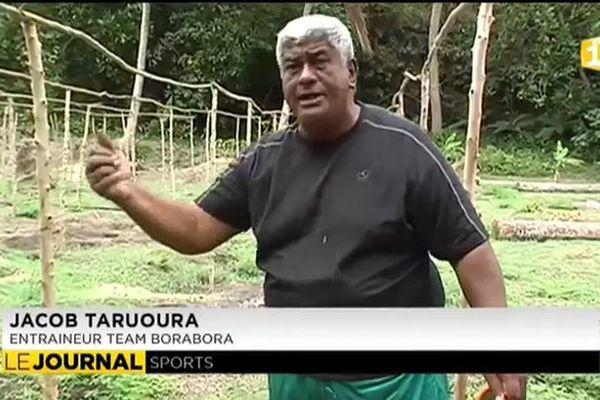 Jacob Taruoura, pasteur, agriculteur et entraîneur
