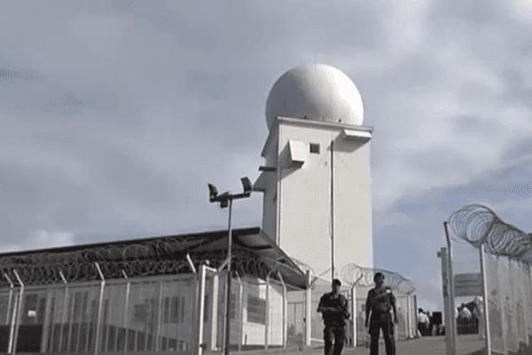 Nouveau radar à Kourou