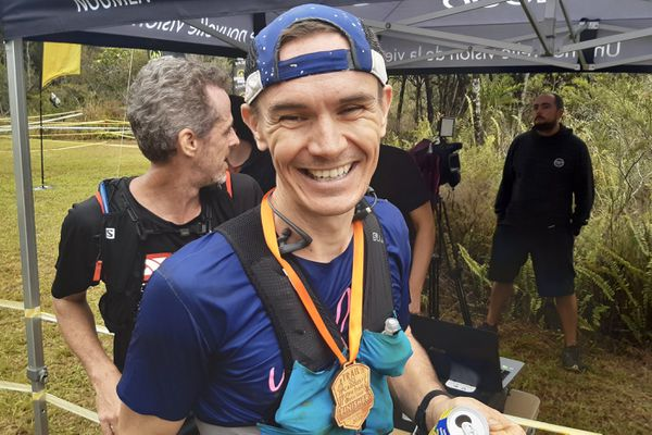 Trail des cagous 2020, Ludovic Lanceleur vainqueur de l'ultra-trail, 12 juillet