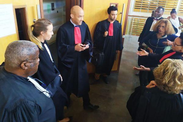 Manifestation des avocats 20 janvier 2020