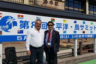 Pacific Islands Leaders Meeting au Japon