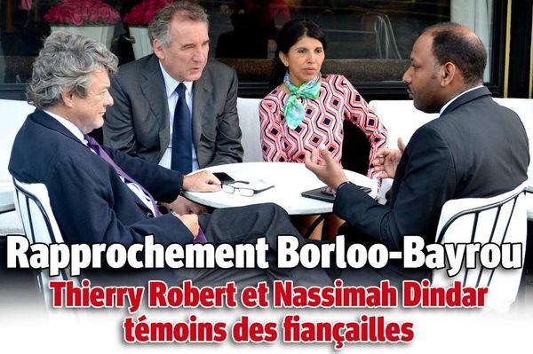 Th Robert N Dindar JL Borloo F Bayrou