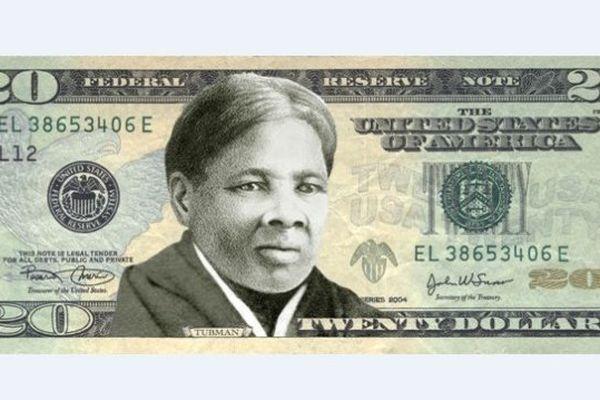 billet 20 dollars Harriet Tubman