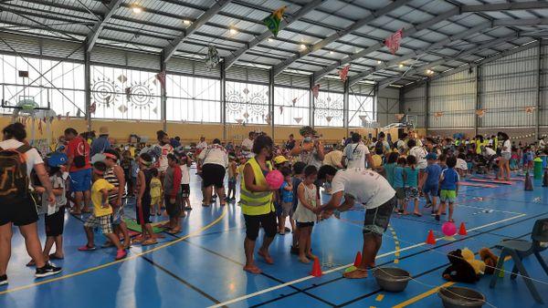 2 200 enfants au centre de vacances de Hitiaa