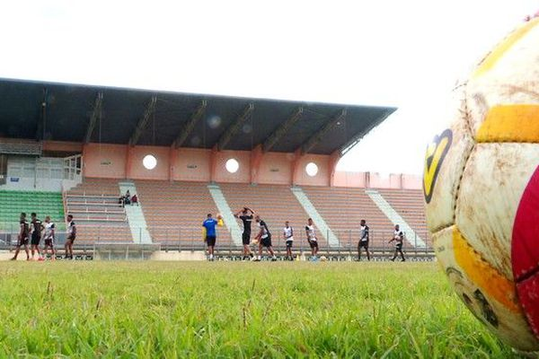 football finale coupe de La Réunion entrainement Saint-Pierroise JSSP 041019