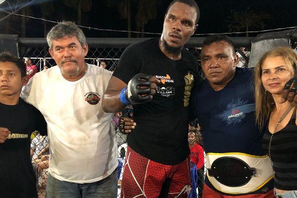Anthony Lupon des Combattants guyanais vaincu le 9 septembre à Oiapoque