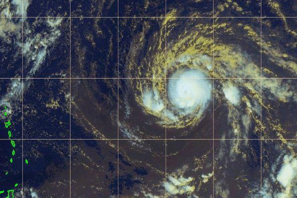 Irma carte satellite