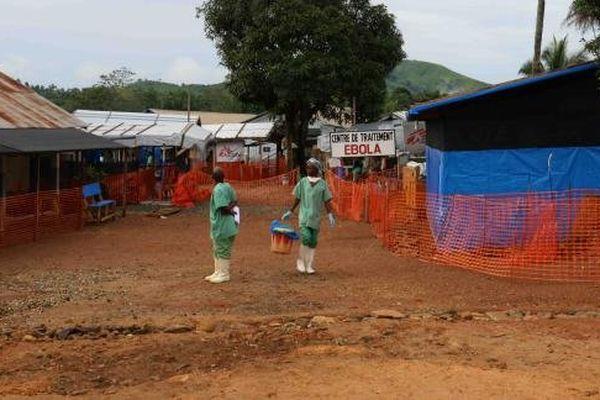 Ebola : village de Guéckédou (Guinée)