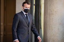 Le président de la République en exercice, Emmanuel Macron, à l'Elysée, le 30 mars 2021.