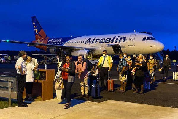 Arrivée Airbus