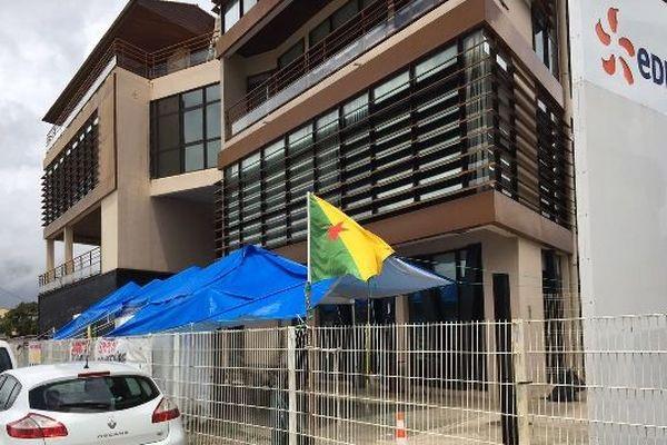 Le siège d'EDF Guyane à Cayenne.