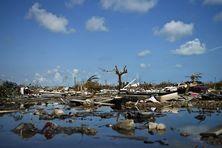 L'état d'une partie des Bahamas après le passage dévastateur de l'ouragan Dorian.