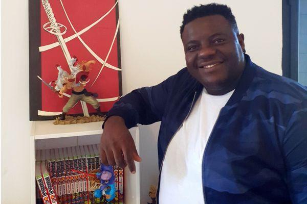 """Yvan Soudy, auteur de la série de manga """"Redskin"""""""