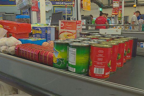 aliments / supermarché