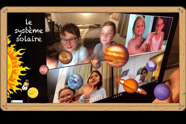 Même confinés, les Kid reporters nous emmènent dans l'espace !