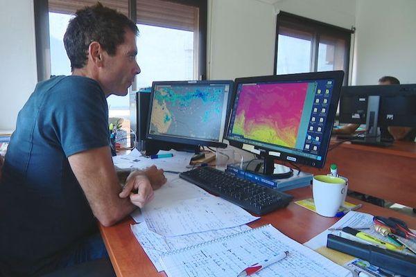Thomas Abinun, météorologiste, service météo, 6 février 2020