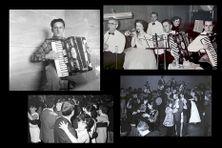 Jean Mahé joue de l'accordéon et fait danser Saint-Pierre et Miquelon