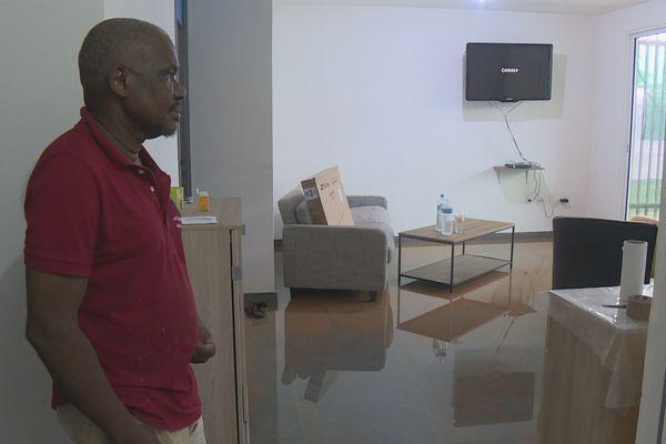 Jean-Yves habitant de concorde victime de l'inondation