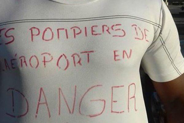Les pompiers de Mayotte en grève