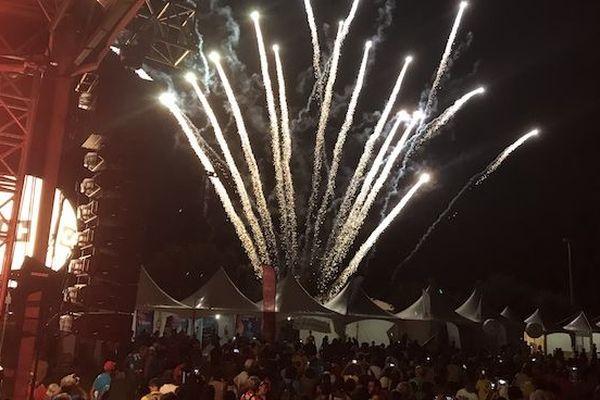 Grand Raid 2018 : feu d'artifice de fin 211018