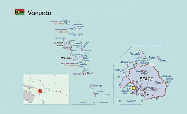Fiche du Vanuatu par la CPS / SPC