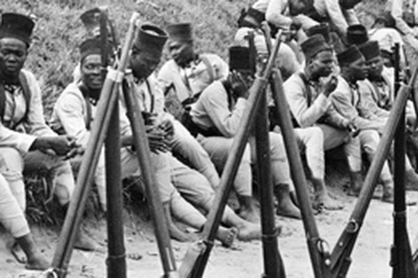 Des tirailleurs sénégalais