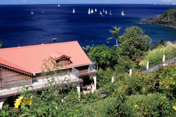 Une maison non loin de Trois Rivières, en Guadeloupe