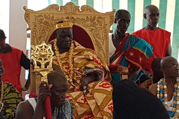 Réception à la cour du roi des Agnis