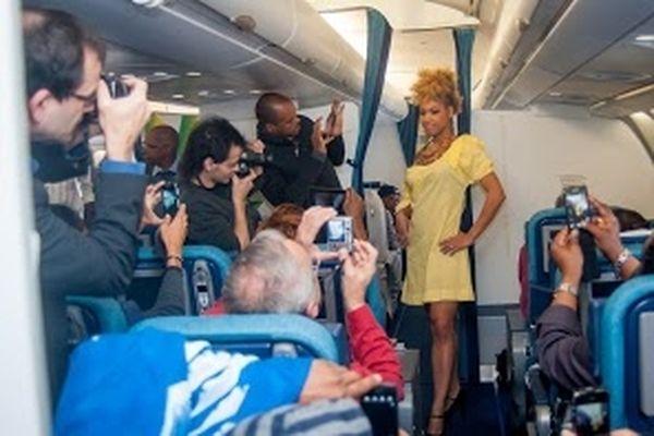 Défilé sur vol Air-Caraïbes (3)