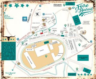 La carte du site