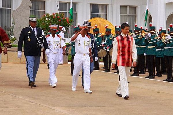 Andry Rajoelina, président décembre 2010