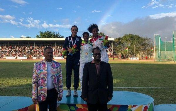 JIOI 2019 athlétisme Emma métro médaillée d'or au 1 500m 250719