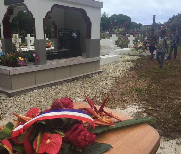 Hommage à Hilarion Vendegou un an après sa mort, 11 janvier 2021, île des Pins