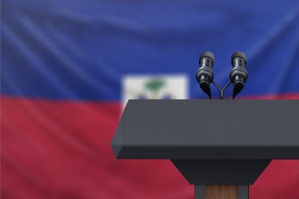 Haiti pupitre vide