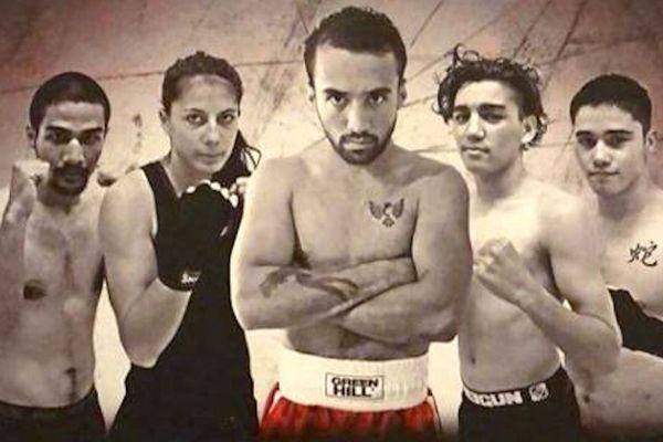 Affiche du meeting de boxe au Mont-Dore, juillet 2018