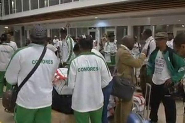 Départ des Comoriens